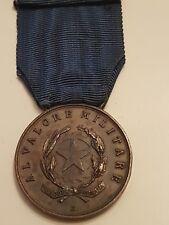 medaglia di bronzo regio esercito cielo di grecia