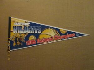NCAA Kentucky Wildcats Vintage 1996 NATIONAL CHAMPIONS Logo Basketball Pennant