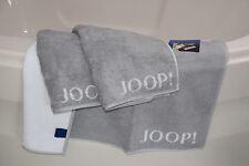 JOOP! Badematte + 2x Handtuch-Set Classic 1600 Col.76 Silber/Weiß Preisvorschlag