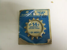 VINTAGE NOS SHIMANO 14T BICYCLE HUB FREEWHEEL CASSETTE COG SPROCKET121 1402-2