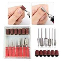 Portable Nail File Kit For Manicure Pedicure Design Hot Tools Polishing P6I5