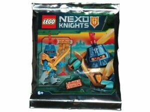 Lego - Nexo Knights - Knight Soldier - Foil Pack - 271830 - New & Sealed nex148