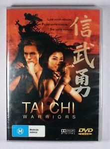 Tai Chi Warriors DVD NEW FREE POST