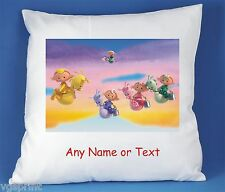 CLOUDBABIES PERSONALISED LUXURY SOFT SATIN POLYESTER CUSHION COVER