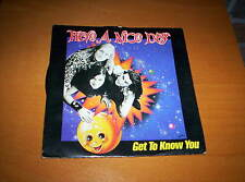 "HAVE A NICE DAY  ""GET TO KNOW YOU""  PICTURE SLEEVE"" 7 INCH  45  1991"