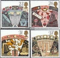Großbritannien 1296-1299 (kompl.Ausg.) postfrisch 1990 Astronomische Vereinigung