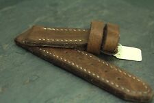 24mm 24x24 leather strap buffalo glove tanned - ZTRITIUM Vintage for Panerai