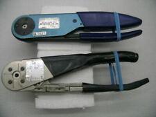 Dmc Daniels M22520/4-01 Gs100-1 & Buchanan 3191-1 Hand Crimping Tools, used