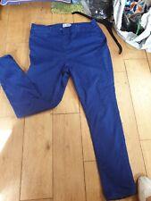 NEW LOOK BLUE CURVE PLUS 20 JEGGINGS JEANS ELASTIC WAIST  WORK PARTY SLIM FIT
