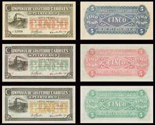 Facsimil Serie Puerto Rico Español (1815 - 1895) - Reproductions