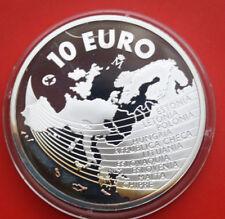 Spain-españa: 10 euro 2004 plata, proof-pp, # f 1881