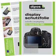 6x Canon EOS 700D Pellicola Prottetiva Antiriflesso Proteggi Schermo
