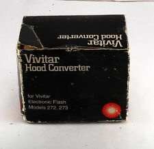 GENUINE VINTAGE VIVITAR HOOD CONVERTER WITH BOX JAPAN NEW OLD STOCK FOR 272 273