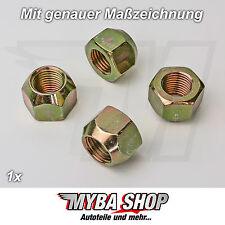1x écrou de roue CONE Composite M14 x 1,5 16 mm JANTES pour Ford # NEUF#