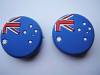 2 Flag Tennis Vibration Dampners absorbers tennis racquets rackets