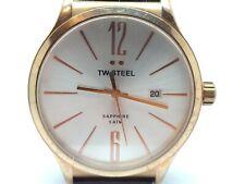 Mens TW Steel Slim Line 45mm Watch TW1304  (92D)