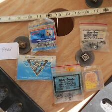 New listing Vintage fishing lure sinkers and hooks (lot#9868)