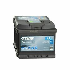 Exide Premium CARBON BOOST EA472 12V 47Ah Starterbatterie 35Ah 36Ah 40Ah 44Ah