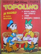 Topolino n°1294 [G.276] - BUONO –