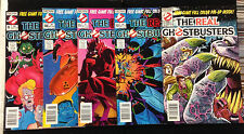 Real Ghostbusters #9-24 and Slimer # 2-18 lot of 25 Now Comics