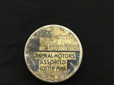Vintage GM Parts General Motors Cotter Pin Tin 600489 Chevrolet Accessories