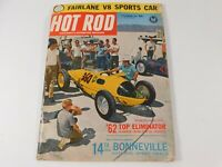 Vintage  Original December 1962 Hot Rod Magazine Automotive Custom Car Mods