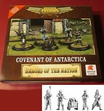 Dystopian Legions DLCA44 Covenant of Antarctica Heroes of the Nation Box Set COA