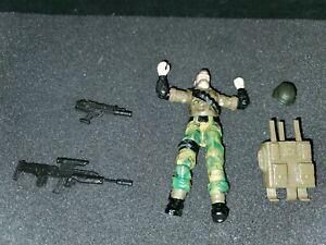 """AMBUSH G.I. Joe 1990 Vintage Hasbro 3.75"""" with Accessories"""