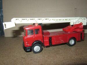 798E Kit Artisanal base Matchbox Camion Pompiers Iveco 180 L 14.5 cm