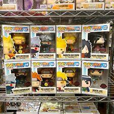 Funko Pop Naruto : Paint, Kakashi, Rock Lee, Sage Mode, Six Path, Madara 1x