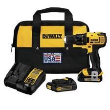 Dewalt DCD780C2 20-Volt 1.5Ah 15-Position Cordless Compact Drill/Driver Kit