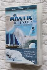 Arctic Mission: The Great Adventure (DVD, 5 Disc) Fat Pack, R- All, Free post