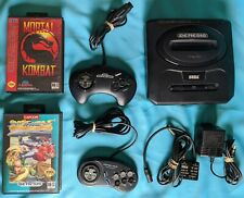 Sega Genesis MK-1631 System 2 Controllers 2 Games Ready to Play