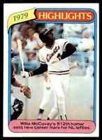 1980 Topps Willie McCovey B #2