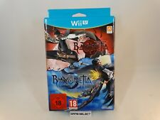 BAYONETTA 1 + BAYONETTA 2 SPECIAL EDITION LIMITED BUNDLE NINTENDO WII U PAL NEW