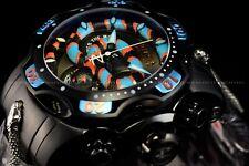 Invicta Men's 52mm Reserve King Venom Coral Snake Swiss Chrono Black SS Watch