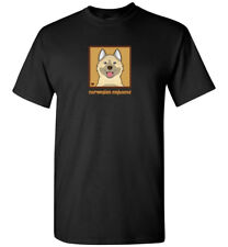 Norwegian Elkhound Cartoon T-Shirt - Men, Women, Youth, Tank, Short, Long Sleeve