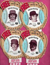 11 X 1977 PEPSI COLA DISKS IN GLOVE BASEBALL CARD (INV# C1012)