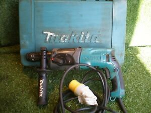 MAKITA HR2470T ROTARY HAMMER DRIL 110 VOLTS SDS CHUCK FRONT HANDLE CASE