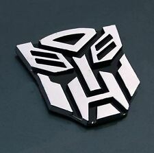 Nouveau 3d-logo-autobot-transformers-optimus-prime-emblem-badge-decal-car-sticker-uk
