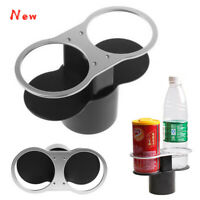 🔥Car Double Holes Bracket Bottle Can Cup Bottle Drink Cup Clip-on Cup Holder UK