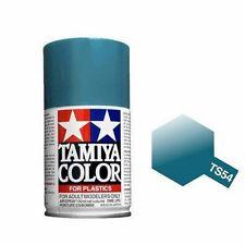 Tamiya TS-54 LIGHT METALLIC BLUE Spray Paint Can 3 oz 100ml 85054 Naperville