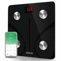 RENPHO Bluetooth Body Fat Scale Smart BMI Scale Digital Bathroom Scale FAST SHIP