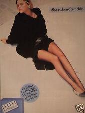 PUBLICITÉ 1983 COLLANTS LE BOURGET MAINTENANT POUR TOUS LES JOURS - ADVERTISING