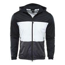 9301bf259e6d Mens Nike SB Shield Windbreaker Jacket 938015-010 White Black Brand New  Size 2XL