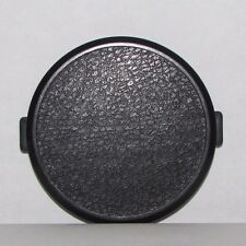 62mm Lens Front Cap snap on type vintage Black    - Free shipping worldwide