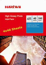 6x4 Inkjet Photo Paper High Glossy 230 240Gsm Hartwii AU - 160 Sheets 10x15cm