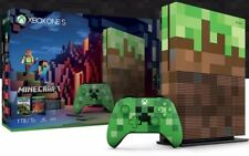 Consola XBox One S 1Tb - Edición Limitada Minecraft - Redstone Pack - Creeper 4K