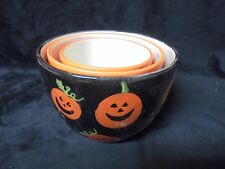 Set of 3 Assorted Sizes and Colors Season of the Witch DENNIS EAST Candy Bowls