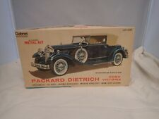 PACKARD DIETRICH CONVERTIBLE VICTORIA HUBLEY 1:22 SCALE SKILL 2 METAL MODEL KIT